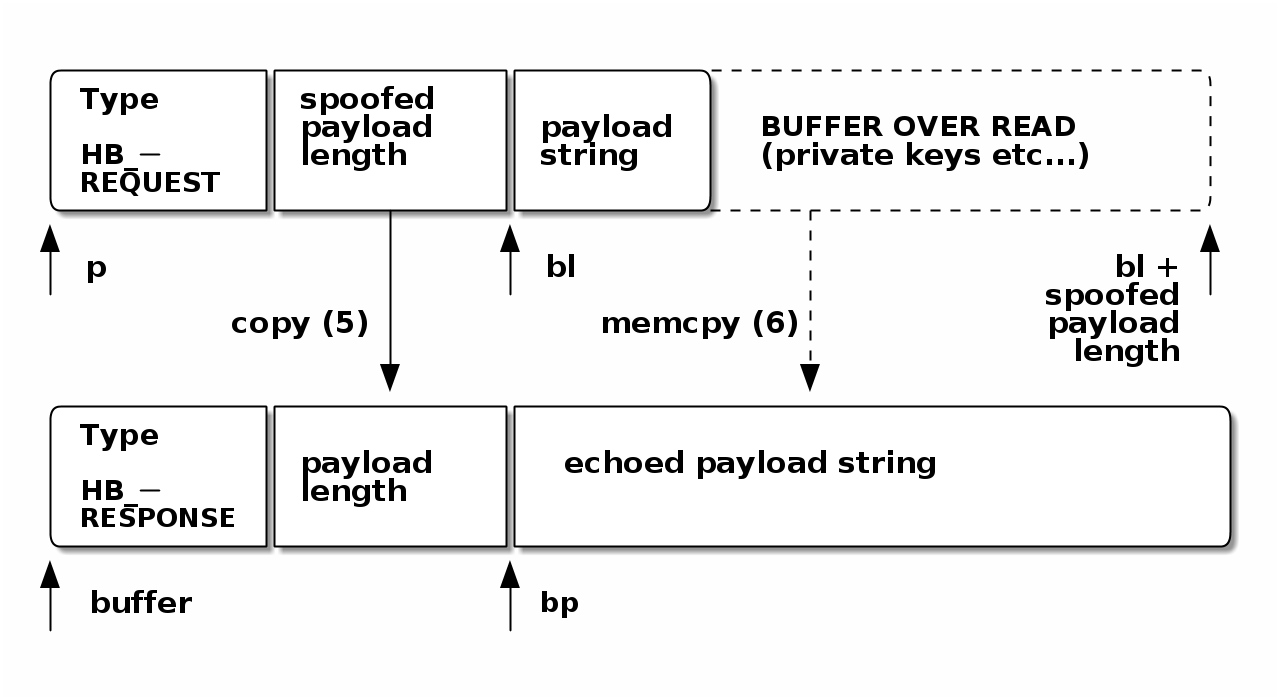 Embedded System Security with Rust: Case Study of Heartbleed